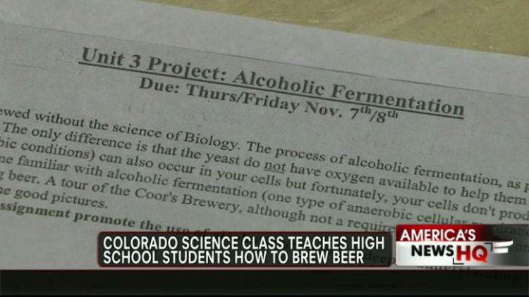Underaged Kids Taught Brewing?
