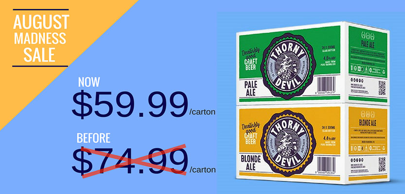 Australian Beer Online: Carton of Craft Beer for $60 Delivered